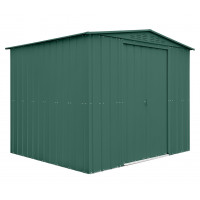 Kerti tároló ház tetőablakkal GLOBEL 108 - Zöld