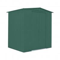 Kerti tároló ház tetőablakkal GLOBEL 65 - Zöld