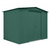 Kerti tároló ház tetőablakkal GLOBEL 86 - Zöld