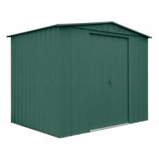 Kerti tároló ház tetőablakkal GLOBEL 86 - Zöld Előnézet