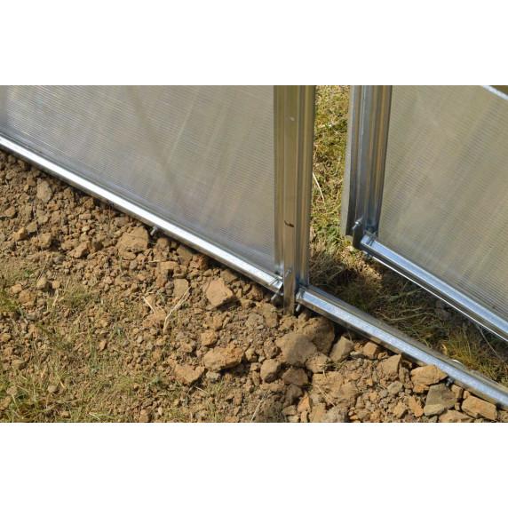 LANITPLAST üvegház KYKLOP 2x3 m PC 4 mm