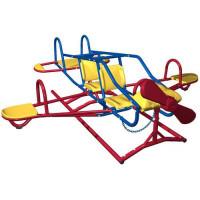 Gyermek mászóka és hinta repülőgép LIFETIME 151110 GEODOME