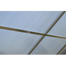 LANITPLAST Tetősín PLUGIN 6x10 üvegházhoz  Előnézet