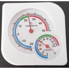 Analóg hőmérő és páratartalommérő 2az1-ben LANITPLAST Előnézet