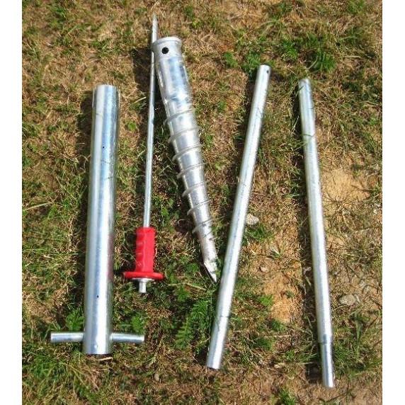 LANITPLAST horgonyzó készlet földbe - 8 darab (modellek 8x7, 8x10, 8x12, 6700-9900)