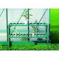 LANITPLAST alumínium állvány két polccal 126x50 - Zöld