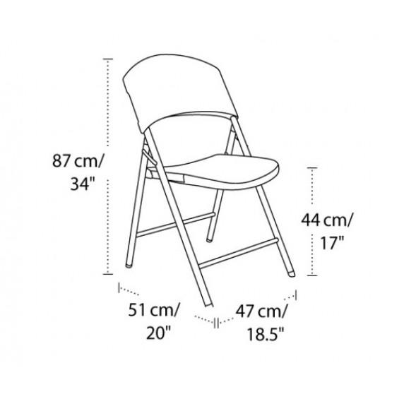 Összecsukható szék LIFETIME 2810