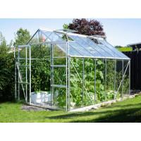 VITAVIA URANUS üvegház 9900 átlátszó üveg 3 mm - Ezüst