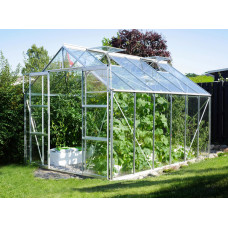 VITAVIA URANUS üvegház 9900 átlátszó üveg 3 mm - Ezüst Előnézet