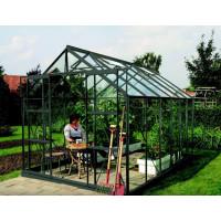 VITAVIA URANUS üvegház 9900 átlátszó üveggel 3 mm - zöld