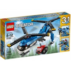 LEGO Creator - Ikerrotoros helikopter 31049 Előnézet