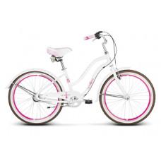 """LE GRAND Junior Gyerek kerékpár Sanibel Jr 14"""" 2020 - fehér / rózsaszín Előnézet"""