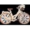 LEGRAND Originals Női városi kerékpár Virginia 3 - krémszínű