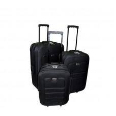Linder Exclusiv EVA bőröndök MC3030 S,M,L - Fekete Előnézet
