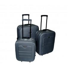 Linder Exclusiv EVA bőröndök MC3031 S,M,L - Szürke Előnézet