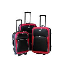 Linder Exclusiv EVA 2 bőröndök MC3055 S,M,L - Piros/fekete