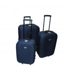 Linder Exclusiv EVA bőröndök MC3029 S,M,L - Kék Előnézet