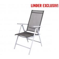 Linder Exclusiv 7-WAY MC5000DG Dunkel Grey kerti szék Előnézet