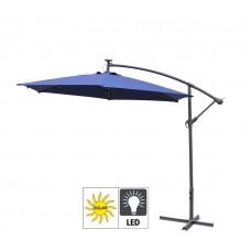 Aga EXCLUSIV 300 cm LED  Dark Blue függő napernyő Előnézet