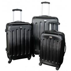 Linder Exclusiv LUXURY MC3003 Bőrönd szett S,M,L - fekete Előnézet
