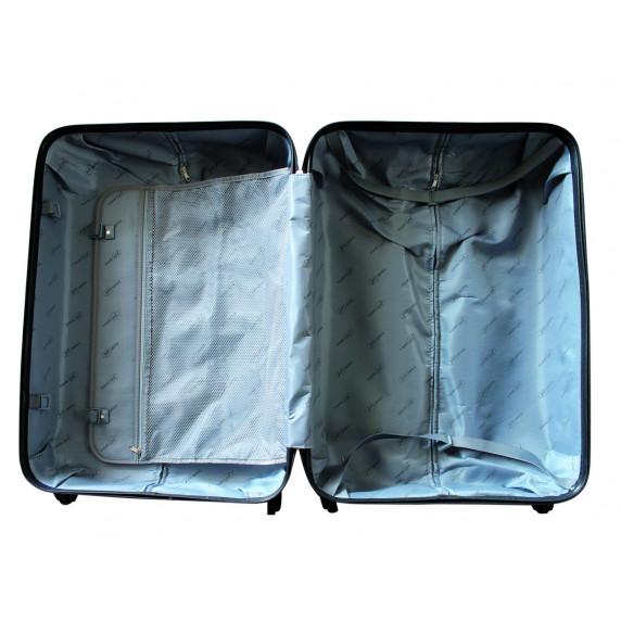 Linder Exclusiv LUXURY MC3053 Bőrönd szett S,M,L - fehér