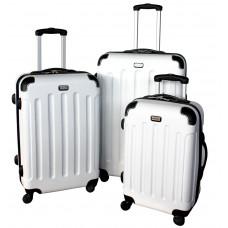 Linder Exclusiv LUXURY MC3053 Bőrönd szett S,M,L - fehér Előnézet