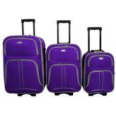 Linder Exclusiv COMFORT COLORS bőröndök MC3050 S,M,L - Lila  Előnézet