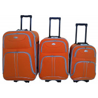 Linder Exclusiv COMFORT COLORS bőröndök MC3049 S,M,L - Narancssárga