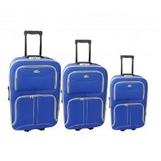 Linder Exclusiv COMFORT COLORS bőröndök MC3063 S,M,L - Kék Előnézet