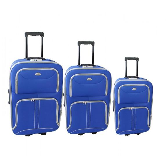 Linder Exclusiv COMFORT COLORS bőröndök MC3063 S,M,L - Kék