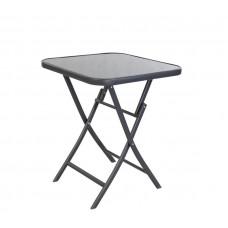 Linder Exclusiv BISTRO MC330852DG kerti asztal 70x70x70 cm Előnézet