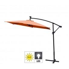 Aga EXCLUSIV 300 cm LED Orange függő napernyő Előnézet
