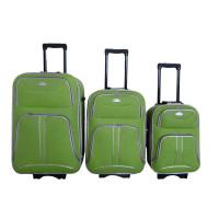 Linder Exclusiv COMFORT COLORS bőröndök MC3049 S,M,L - Zöld