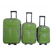 Linder Exclusiv COMFORT COLORS bőröndök MC3049 S,M,L - Zöld Előnézet