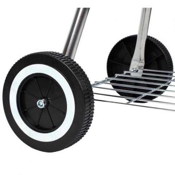 Mozgatható grill fedővel MalTec MagicKugel GM6000