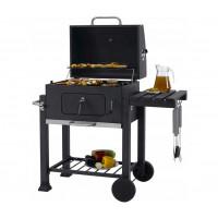 Mozgatható grill fedővel + kötény MalTec Full Metal GM5000