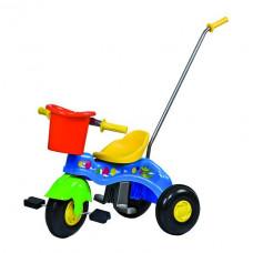 Inlea4Fun Junior tricikli tolókarral - kék