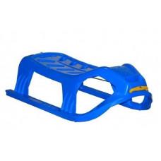 Inlea4Fun SNOW Kétszemélyes műanyag szánkó - kék Előnézet