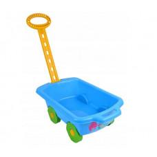 Inlea4Fun Trolley húzható kiskocsi gyerekeknek - kék Előnézet