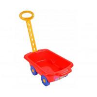 Inlea4Fun Trolley húzható kiskocsi gyerekeknek - piros