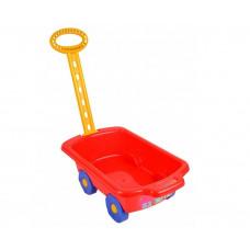 Inlea4Fun Trolley húzható kiskocsi gyerekeknek - piros Előnézet