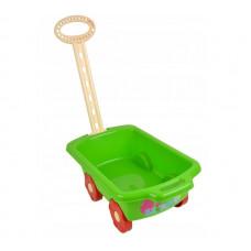 Inlea4Fun Trolley húzható kiskocsi gyerekeknek - zöld Előnézet
