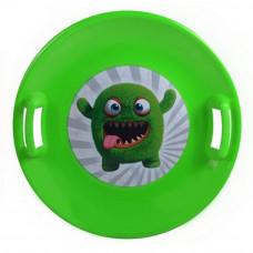 Inlea4Fun szánkó tányér 60 cm - Zöld Előnézet