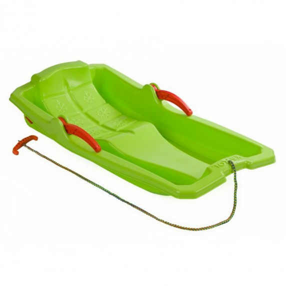 Inlea4Fun KAROL szánkó fékekkel - Zöld