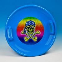 Inlea4Fun szánkó tányér 60 cm - Kék