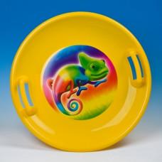 Inlea4Fun szánkó tányér 60 cm - Sárga Előnézet