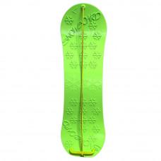 Inlea4Fun gyerek snowboard hódeszka - Zöld Előnézet