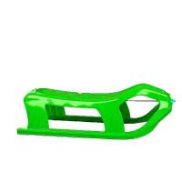 Inlea4Fun SNOW Kétszemélyes műanyag szánkó - zöld