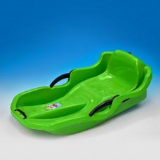 Inlea4Fun Speed Bob szánkó fékekkel - Zöld Előnézet