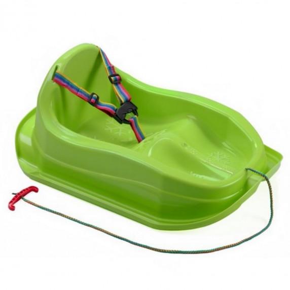 Inlea4Fun ergonomikus szánkó MAJA - Zöld